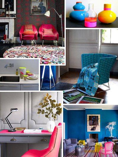 Fluorescent Decor: Neon Interior Design Ideas to Brighten ...