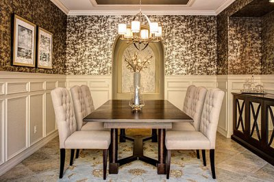 20 Eye-Catching Wallpapered Rooms
