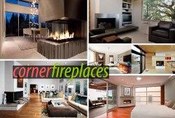 Small Of Corner Fireplace Ideas