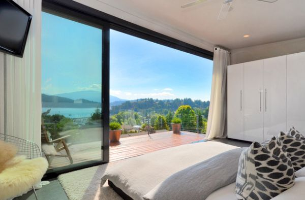 Delighful Modern Curtains For Sliding Glass Doors Bedroom With A Stunning To Ideas