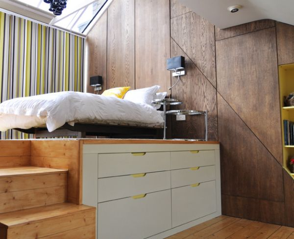 45 Small Bedroom Design Ideas and Inspiration View in gallery Modern loft bed perfect for small bedrooms