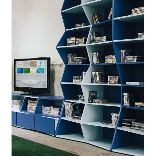 Medium Crop Of Modern Contemporary Bookshelves