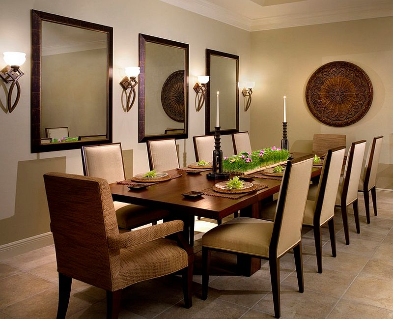 view in gallery gorgeous contemporary dining room with sconce lighting up your how to use wall ideas