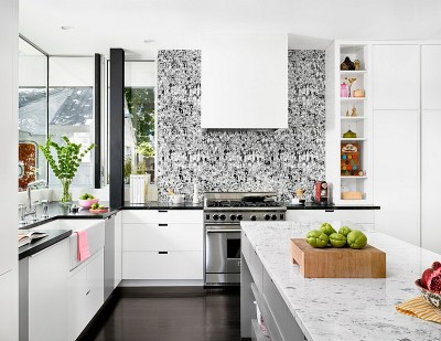 Kitchen Wallpaper Ideas - Wall Decor That Sticks