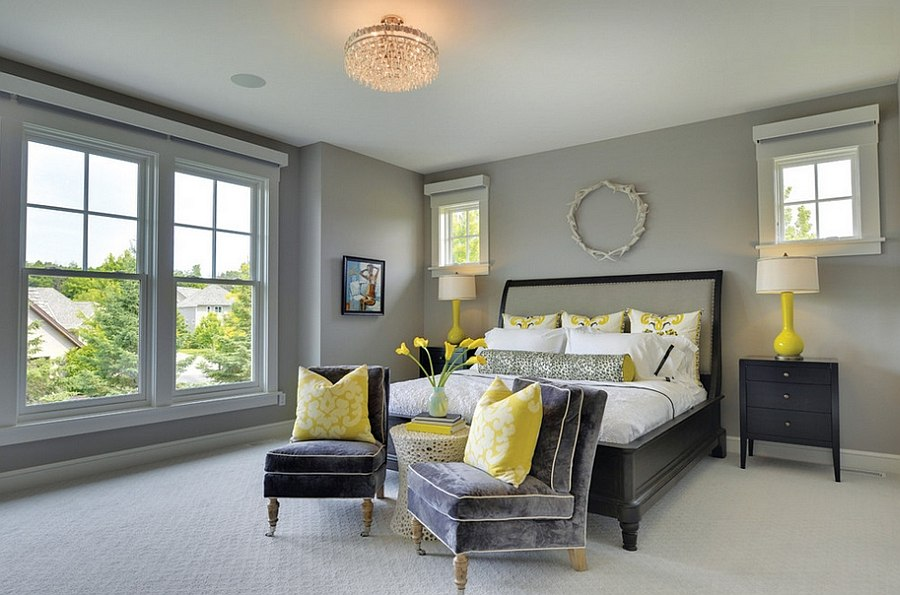 Decoist View In Gallery Add A Couple Of Throw Pillows To Infuse Yellow Zest The  Room Design