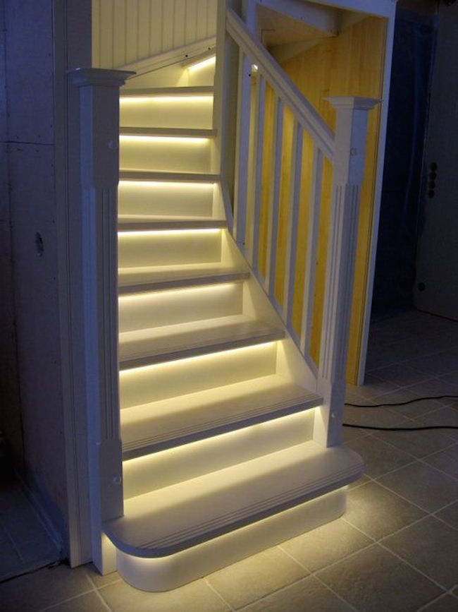 view in gallery basement stairs with led lighting amazing steps l