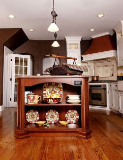 Small Of Kitchen Island With Shelf