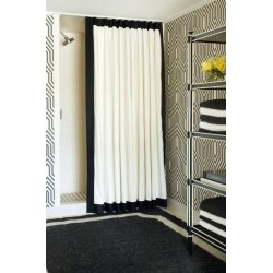 Creative A Ceiling Track System By Tobi Fairley Shower Curtains Shower Curtains Australia Shower Curtain Track View Gallery Shower Curtain