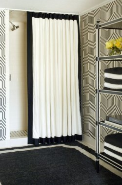 Small Of Modern Shower Curtains
