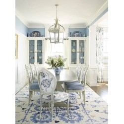 Small Crop Of Blue Dining Room