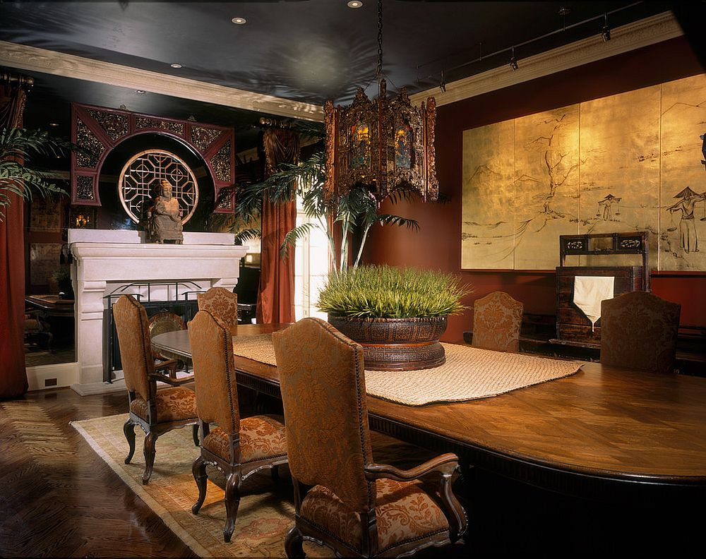 view in gallery fabulous asian style dining room delves into the extravagant design jim weinberg lifestyles furniture g