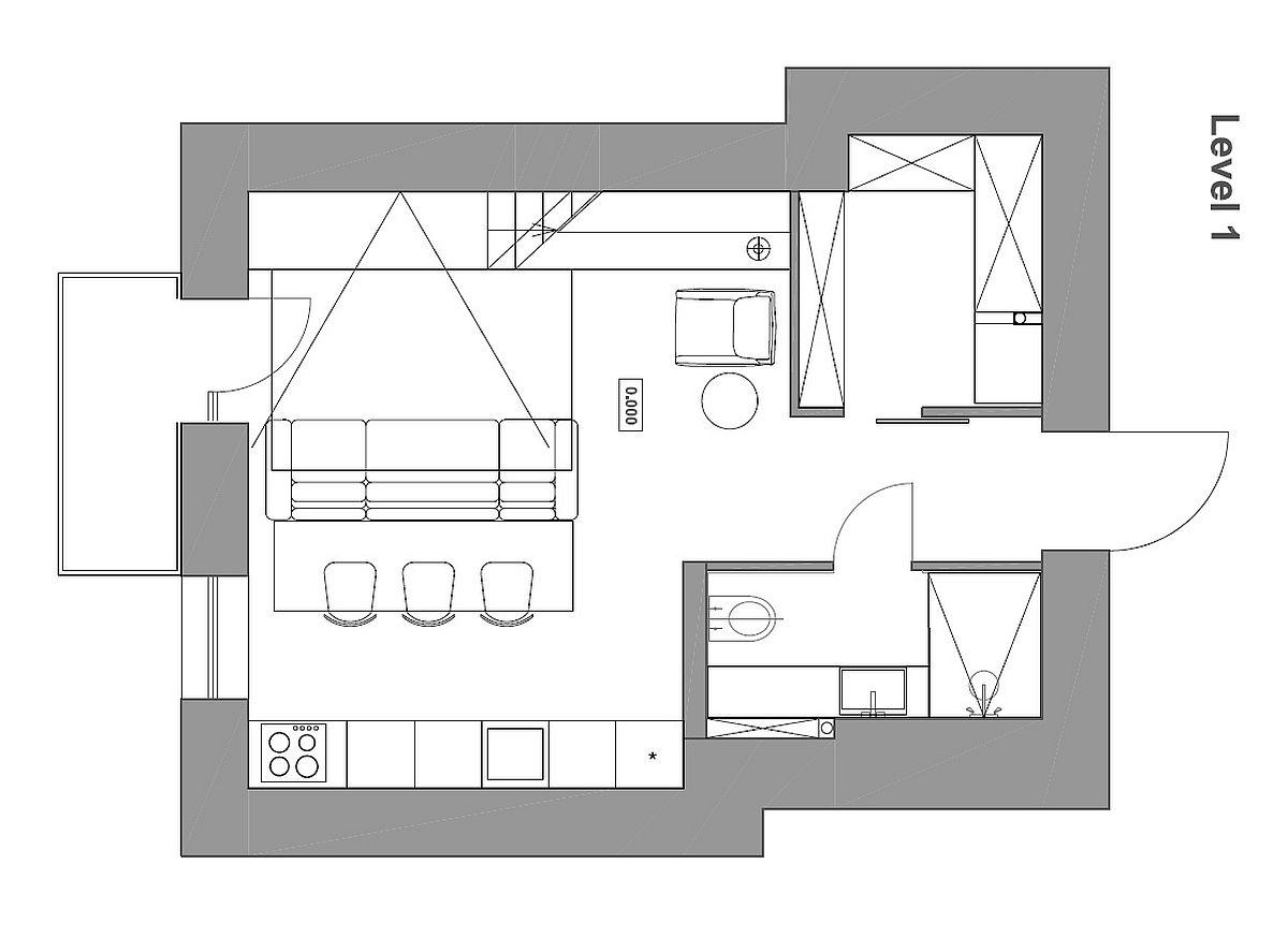 Fullsize Of Small Apartment Plan