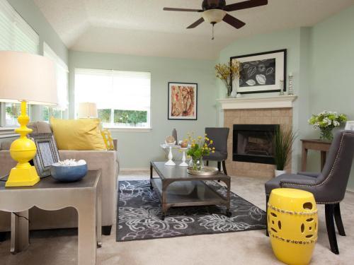 Medium Of Living Rooms Interior