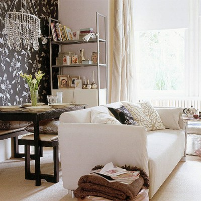 Wallpaper Accent Wall - Contemporary - bedroom - LUX Design