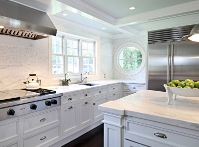Cooktop Above Pot and Pan Drawers - Transitional - Kitchen