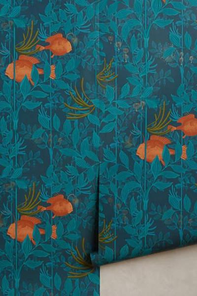 Blue Ocean Reverie Wallpaper