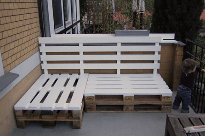 benches garden furniture from pallets