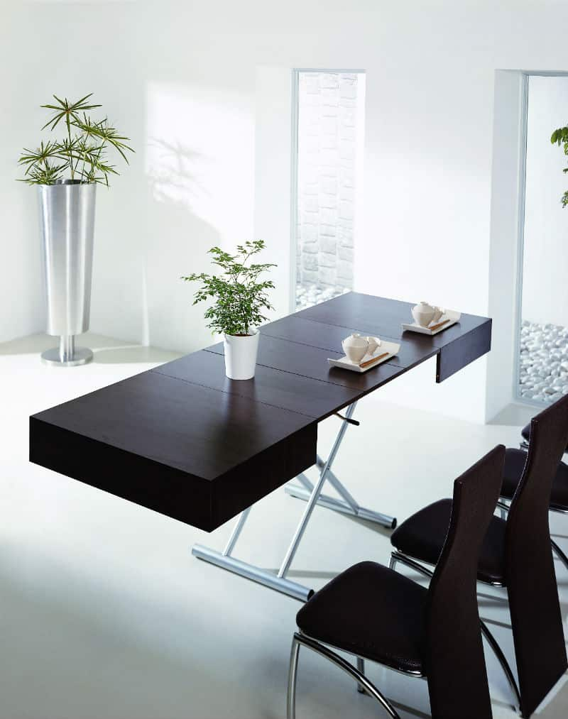 great example of smart furniture space saving without compromising style murphy kitchen table furniture designrulz 1