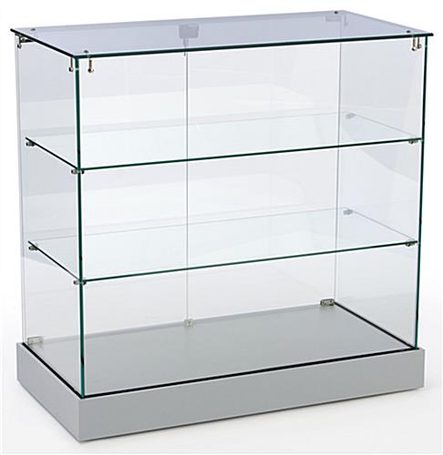 Showcase Counter Wrap  Glass Cabinet For Sale T85