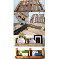 Genuine Wooden Pallet Wall Shelf Diy Shelves Build Your Own Shelves Diy Crafts Wall Wood Shelf 4 Feet Wall Wood Shelf