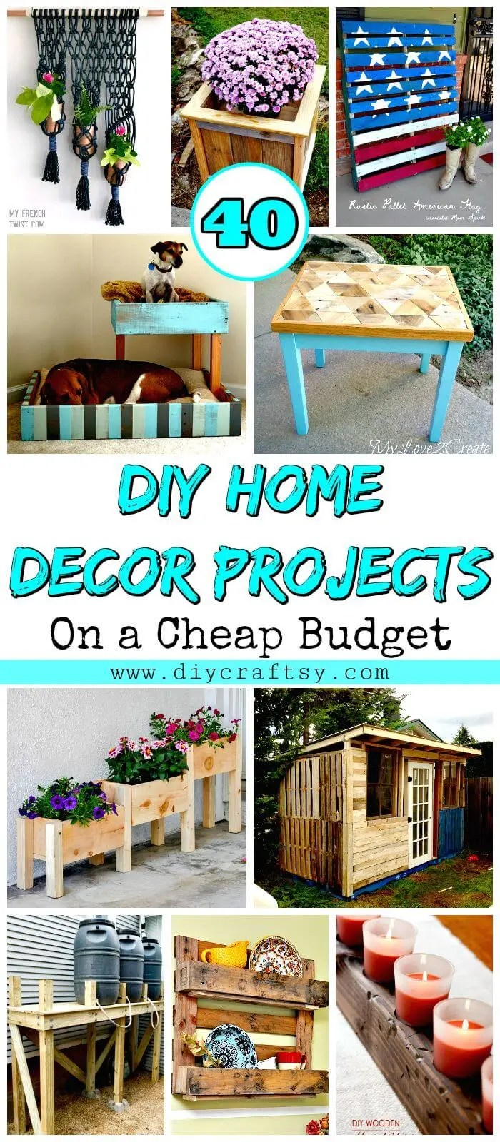 Elegant Diy Home Decor Projects Diy Home Decor Projects On A Cheap Budget Diy Crafts Diy Home Decor Projects Pinterest Diy Spring Home Decor Projects home decor Diy Home Decorating Projects