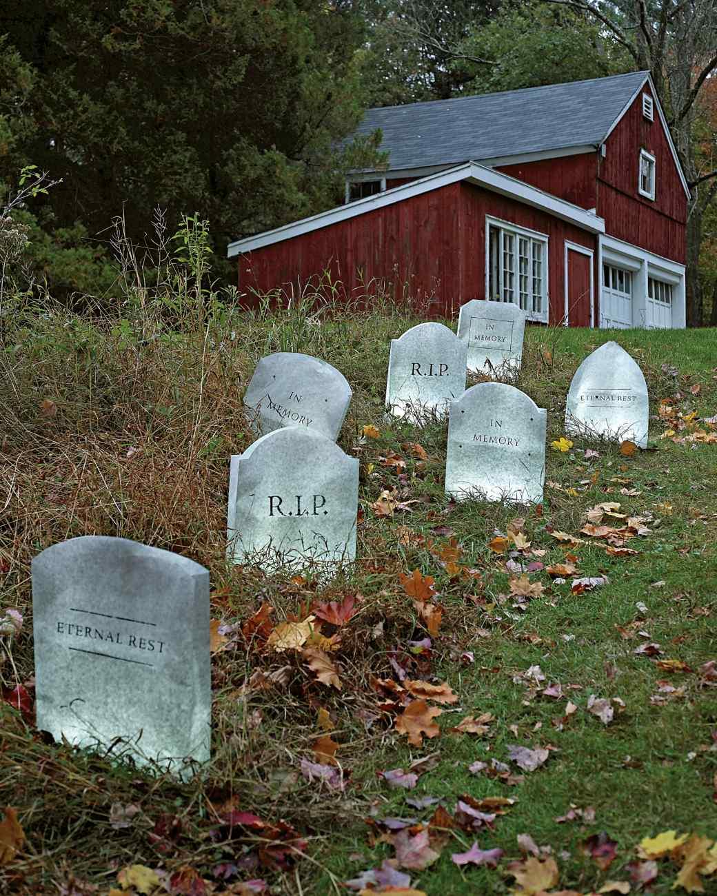 Fullsize Of Outdoor Halloween Decorations