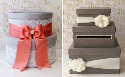 18 DIY Wedding Card Boxes For Your Guests To Slip Your ...