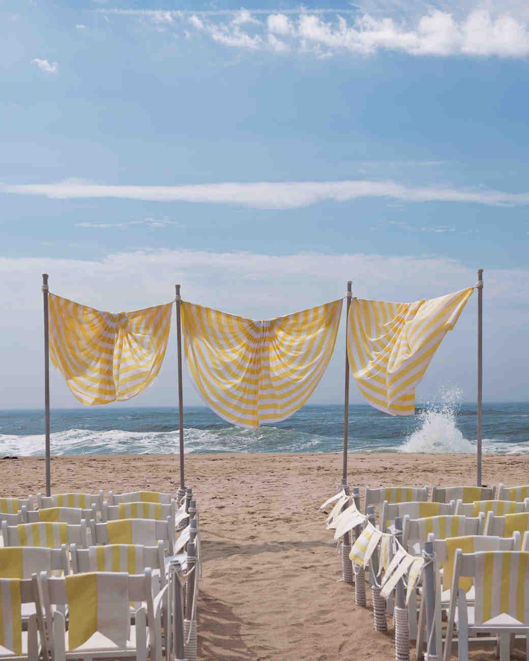 Noble Diy Wedding Backdrop Ceremony Marker Beach Vert Diy Beach Wedding Ideas A Destination Celebration Beach Wedding Decorations Diy Beach Party Decorations Diy home decor Beach Decorations Diy