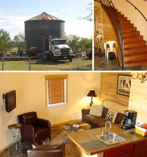 grain silo home converted