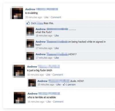 21 Idiots Who Forget To Log Out Of Facebook - Gallery | eBaum's World