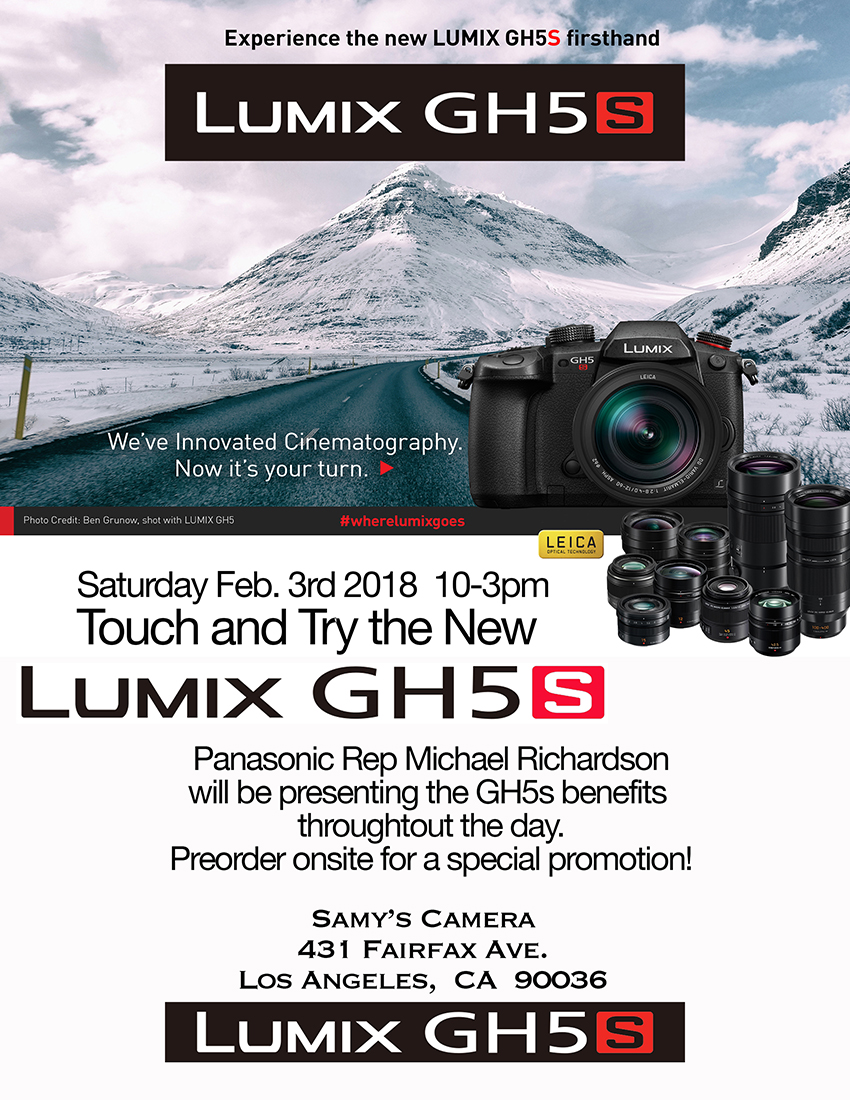 Awesome Camera Samy S Camera Rental Prices Samy S Camera Rental Fairfax Panasonic Try New Lumix This Event Has Touch dpreview Samys Camera Rental
