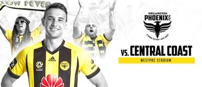 Wellington Phoenix VS Central Coast Mariners - Wellington - Eventfinda