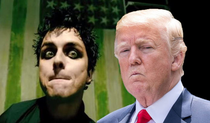 Green Day s American Idiot Soars Up UK Charts Ahead Of Trump Visit Green Day s American Idiot climbs UK charts ahead of Trump visit  Pic   YouTube