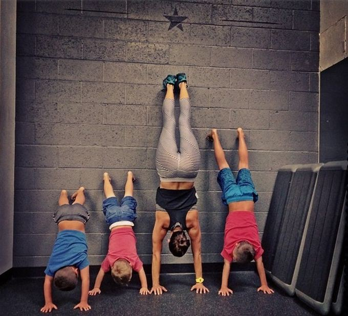 Фитнес-мамы, которым хочется подражать мама, спорт, фитнес