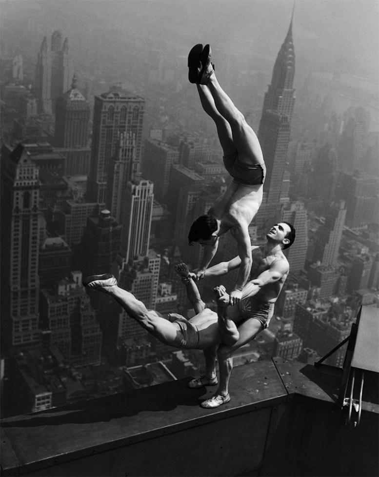 Акробаты на Эмпайр-стейт-билдинг, 1934 год история, факты, фото