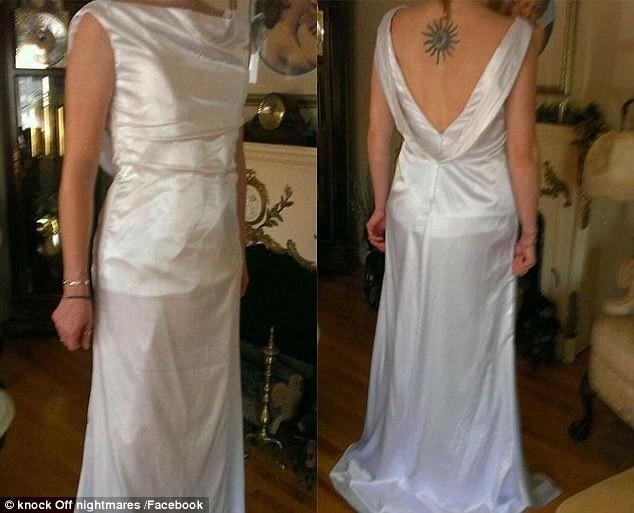 Реальность  ожидание и реальность, платье