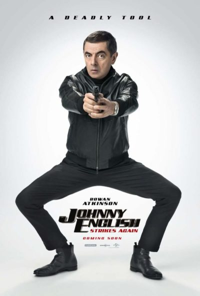 Rowan Atkinson is a deadly tool in trailer for Johnny English Strikes Again