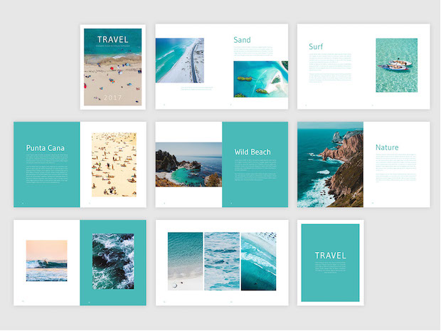 Free Travel Brochure Template  Free InDesign Template travel brochure template