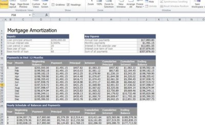 Mortgage Calculator Amortization Excel Download - free loan amortization calculator download ...