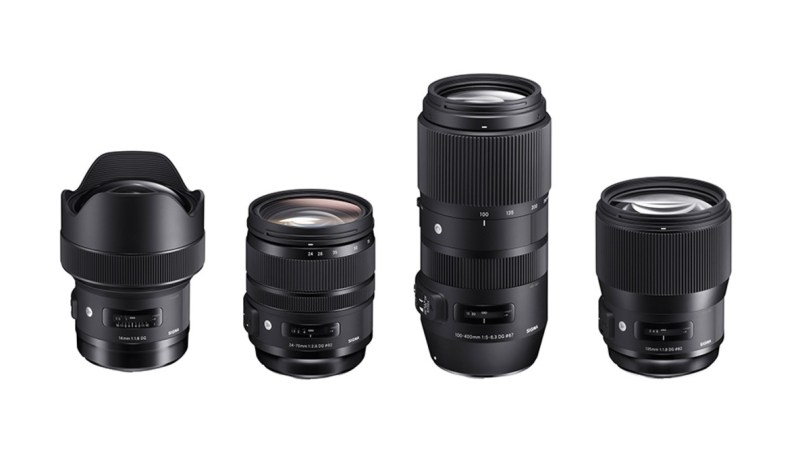 Large Of Sigma Lenses For Canon