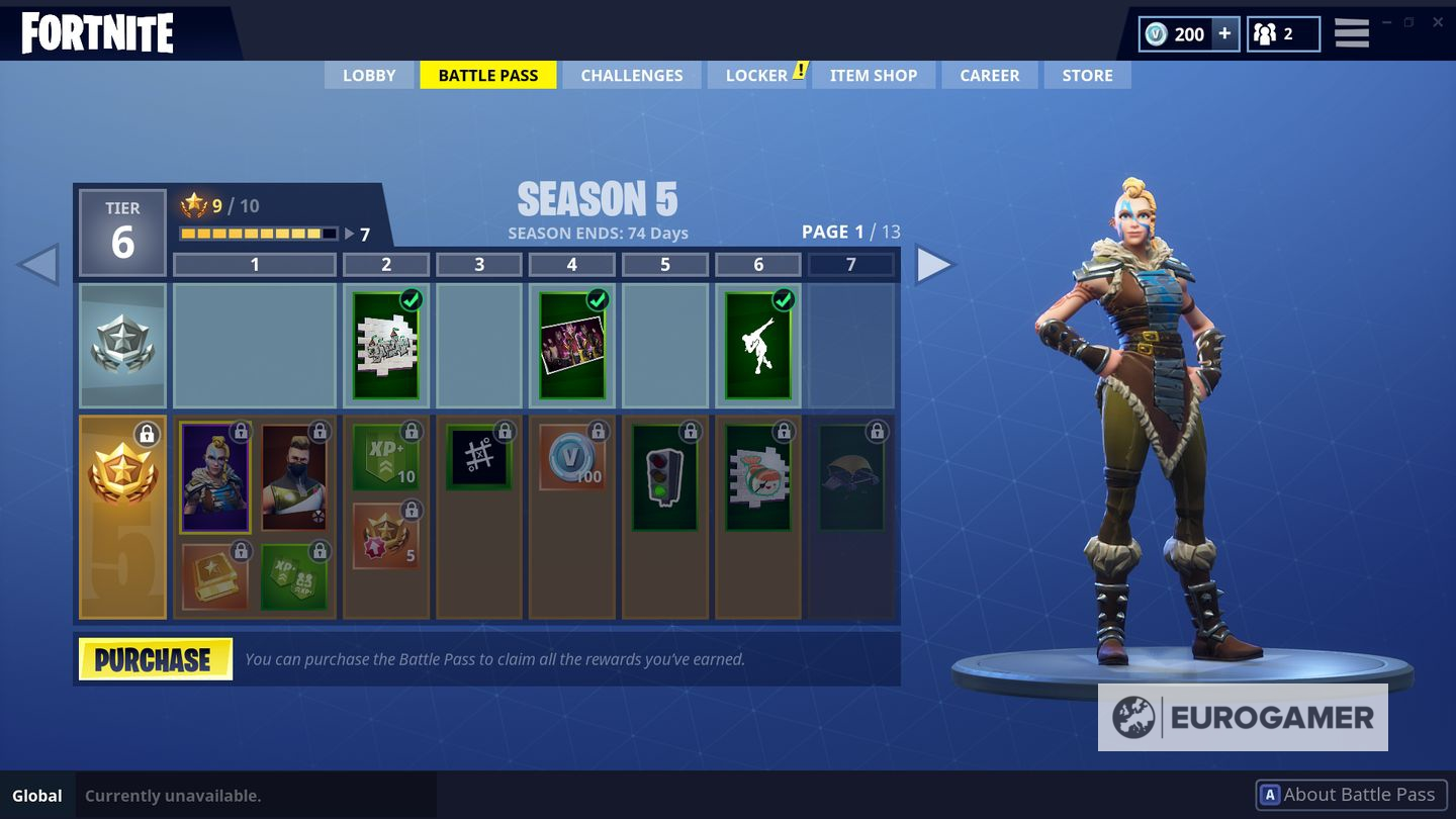 Fortnite Season 6 expected release date  theme  Battle Pass cost and     Fortnite Season 5 Battle Pass rewards list
