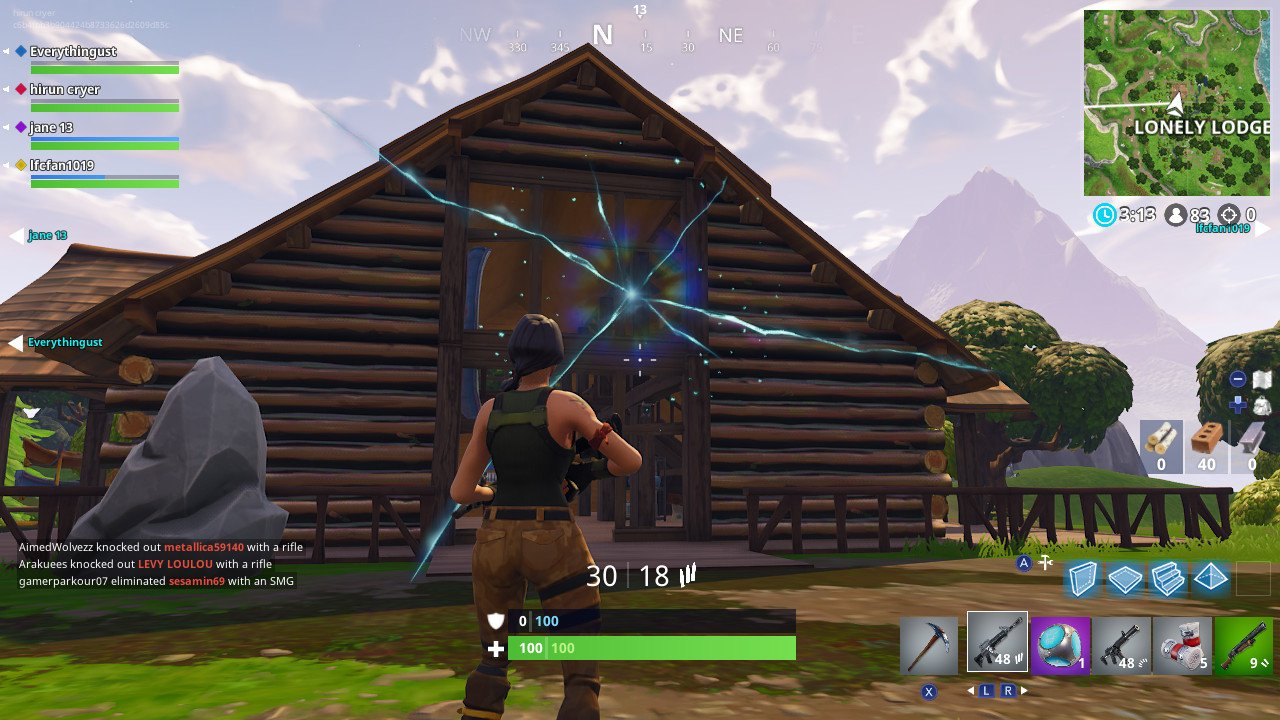 Fortnite Season 5 Date  Leaks     New Fortnite Season 5 Map      Battle         you can see the motel sign vanish  getting completely sucked through  the wormhole  If the wormholes keep up at this rate  most of the Fortnite  map could