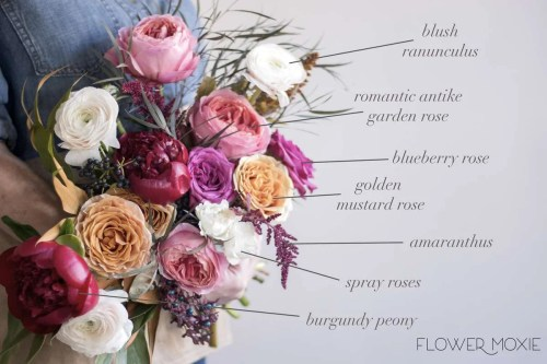 Medium Of Fall Wedding Bouquets