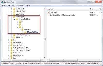Add and sort Windows desktop background folders - gHacks Tech News