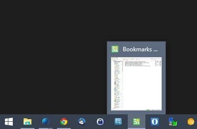 disable taskbar previews windows 10