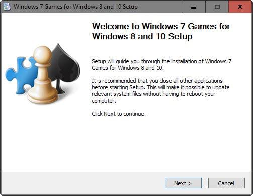 windows 7 games for windows 10