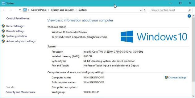 windows 10 computer name