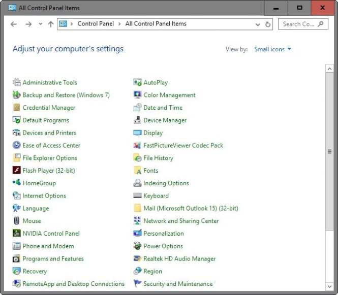 Cara Setting Program default pada Windows 10