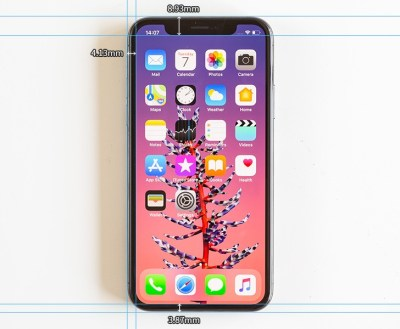 Measuring the bezels of the iPhone X - can Apple win the bezel-less war? - GSMArena.com news