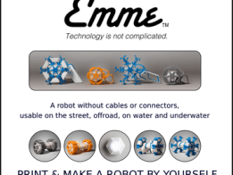"""EMME """"Technology is not complicated"""" a new ROBOT"""